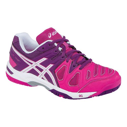 Womens ASICS GEL-Game 5 Court Shoe - Pink Glow/White 8.5