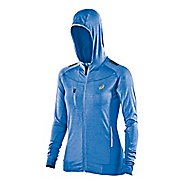 Womens ASICS FujiTrail Warm Up Hooded Jackets