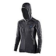 Womens ASICS FujiTrail Warm Up Hooded Jackets