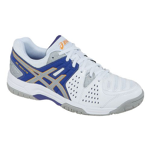 Womens ASICS GEL-Dedicate 4 Court Shoe - Lavender/Silver 12