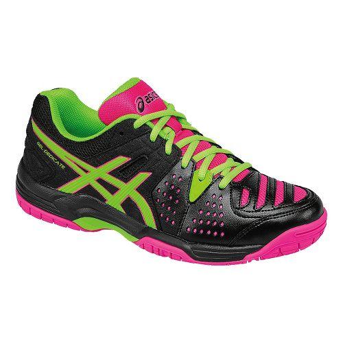 Womens ASICS GEL-Dedicate 4 Court Shoe - Lavender/Silver 9.5