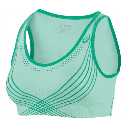 Womens ASICS Fit-Sana Seamless Sports Bras - Beach Glass M/L