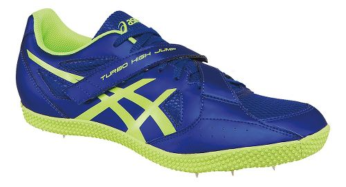 ASICS Turbo Hi Jump 2 Track and Field Shoe - Deep Blue/Yellow 10