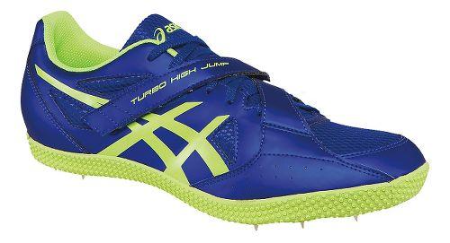 ASICS Turbo Hi Jump 2 Track and Field Shoe - Deep Blue/Yellow 11.5