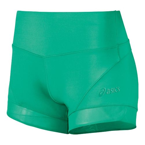 Womens ASICS Fit-Sana Booty Unlined Shorts - Cool Mint XL