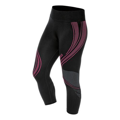 Womens ASICS Fit-Sana Seamless Capri Tights - Ultra Pink XS