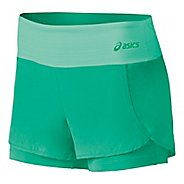 Womens ASICS Fit-Sana 2 in 1 Shorts
