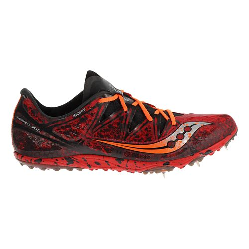Mens Saucony Carrera XC Spike Cross Country Shoe - Red 8