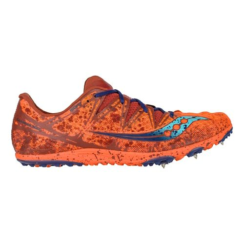 Mens Saucony Carrera XC Spike Cross Country Shoe - Orange 7