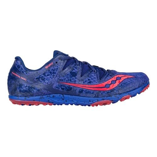 Mens Saucony Carrera XC Flat Cross Country Shoe - Blue 10.5