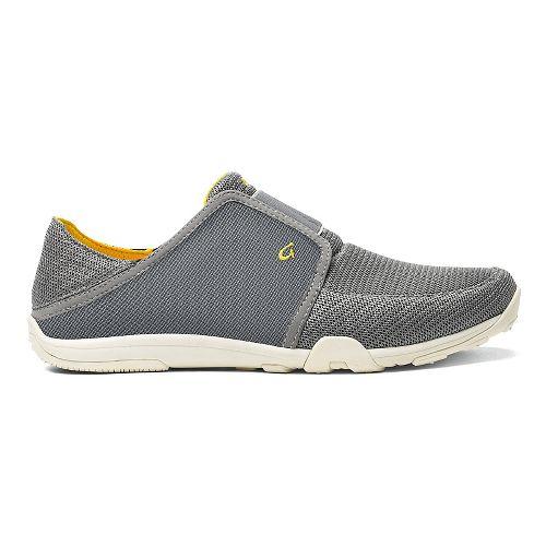 Mens OluKai Nohea Sport Casual Shoe - Grey/Grey 8.5