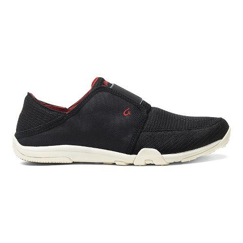 Mens OluKai Nohea Sport Casual Shoe - Black/Black 10.5