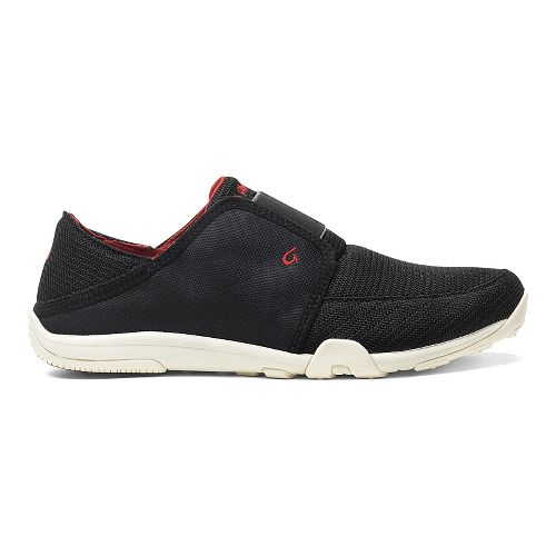 Mens OluKai Nohea Sport Casual Shoe - Black/Black 14