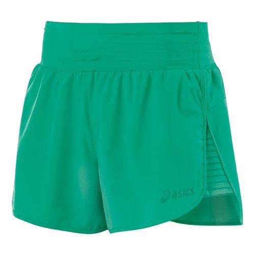 Womens ASICS Cleo Pop Unlined Shorts - Cool Mint XL
