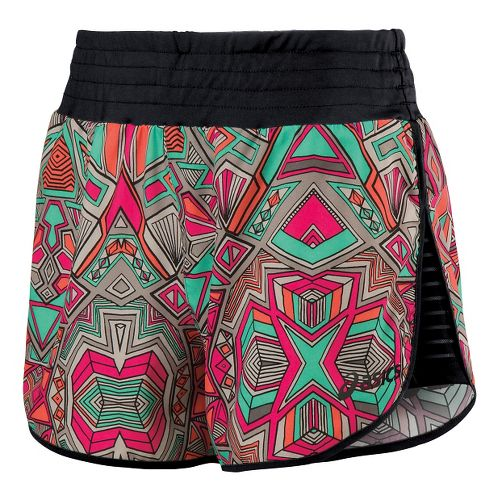 Womens ASICS Cleo Pop Unlined Shorts - Geotribal Print XL