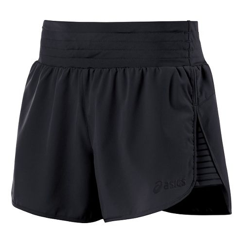 Womens ASICS Cleo Pop Unlined Shorts - Performance Black XL