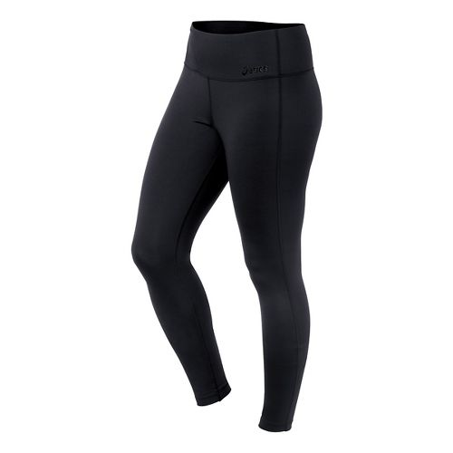 Womens ASICS Cleo Pop Barre Full Length Tights - Performance Black S