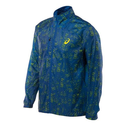 Mens ASICS Lightweight Jackets - Skyline Air Force XXL