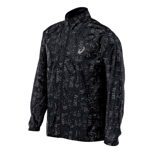 Mens ASICS Lightweight Jackets - Skyline Black M