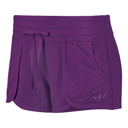 Womens ASICS Flex Unlined Shorts - Purple Magic S