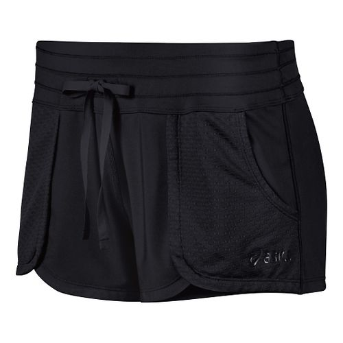 Womens ASICS Flex Unlined Shorts - Performance Black L