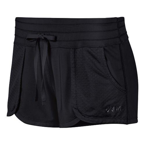 Womens ASICS Flex Unlined Shorts - Cherry Tomato M