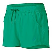 Womens ASICS Train Woven Lined Shorts