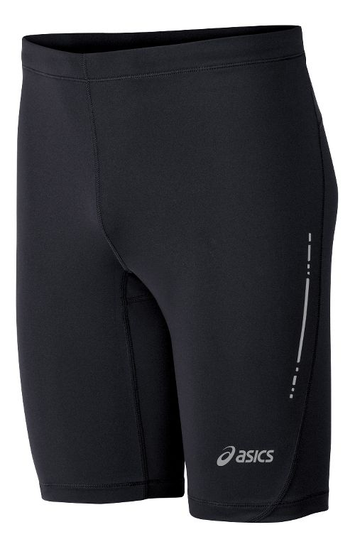 Mens ASICS Performance Run Sprinter Unlined Shorts - Black M