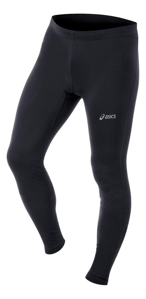Mens ASICS Performance Run Essentials Full Length Tights - Black XL-R