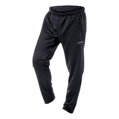 Mens ASICS Performance Run Essentials Full Length Pants - Black L-T