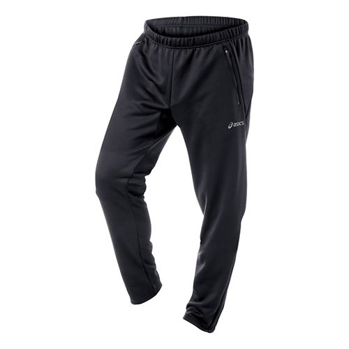 Mens ASICS Performance Run Essentials Full Length Pants - Black XL-T