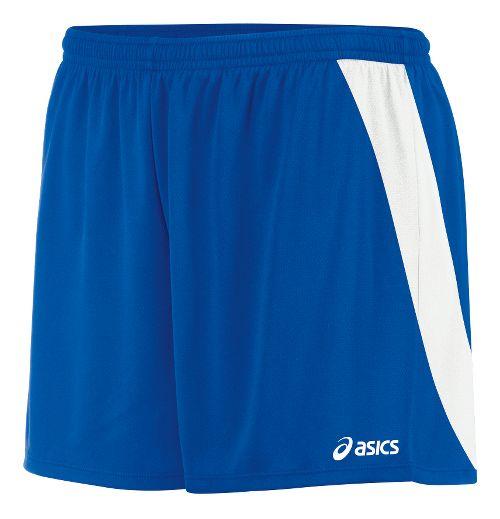 Womens ASICS Break Through Unlined Shorts - Royal/White XS