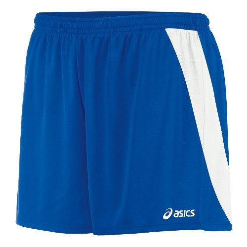 Womens ASICS Break Through Unlined Shorts - Royal/White M