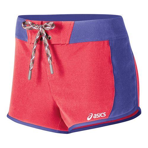 Womens ASICS Nalani Board Unlined Shorts - Icelolly/Barcelona 7