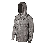Mens ASICS FujiTrail Packable Warm Up Hooded Jackets