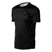 Mens ASICS Train Print Tee Short Sleeve Technical Tops