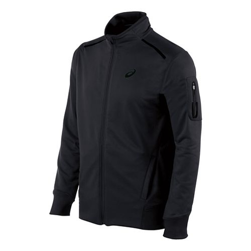 Mens ASICS Track Lightweight Jackets - Black XXL
