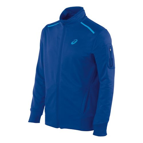 Mens ASICS Track Lightweight Jackets - Air Force Blue XL