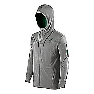 Mens ASICS Train Full Zip Warm Up Hooded Jackets