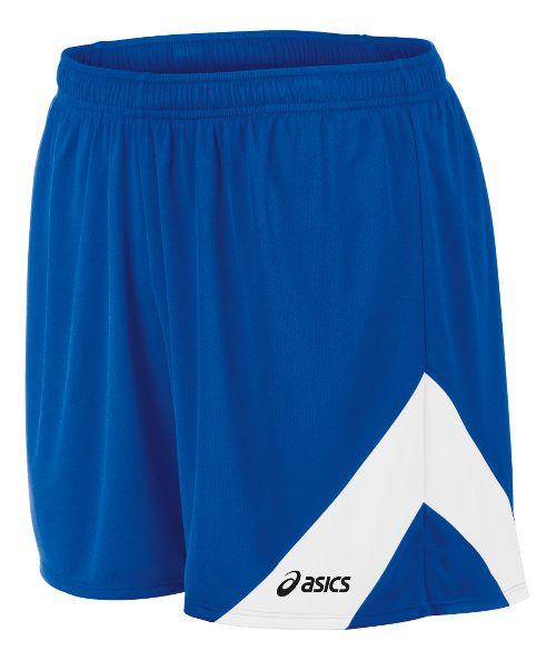 Mens ASICS Break Through Lined Shorts - Royal/White XL