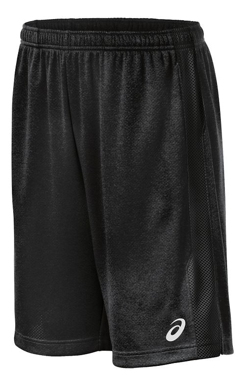 Mens ASICS Quad TR Unlined Shorts - Black XL