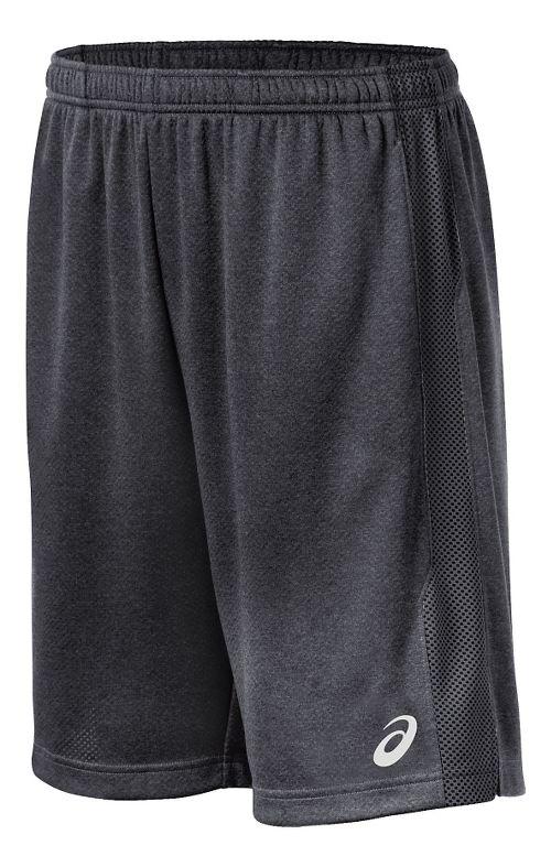 Mens ASICS Quad TR Unlined Shorts - Graphite XL
