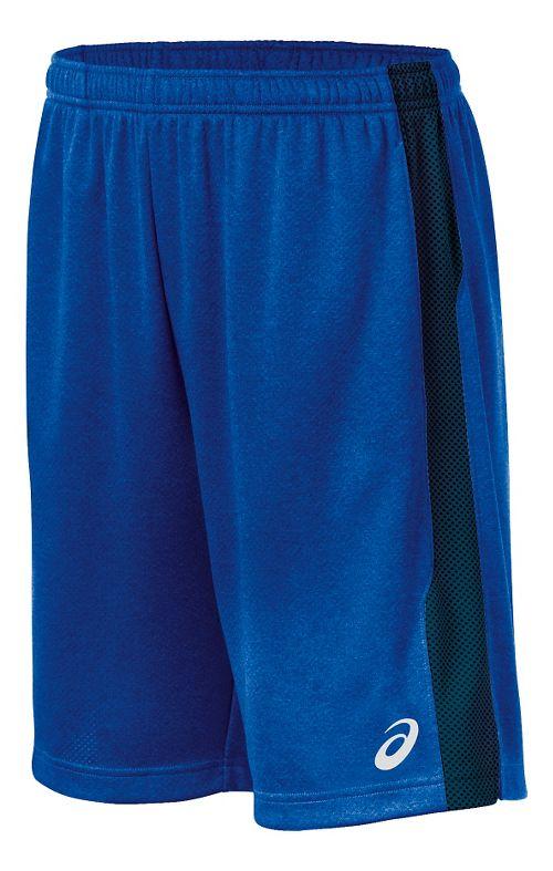 Mens ASICS Quad TR Unlined Shorts - Royal M