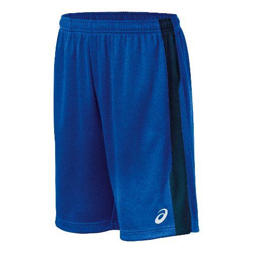 Mens ASICS Quad TR Unlined Shorts - Royal XL