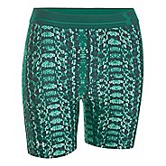 Womens Under Armour HeatGear Alpha Compression Printed Mid Unlined Shorts