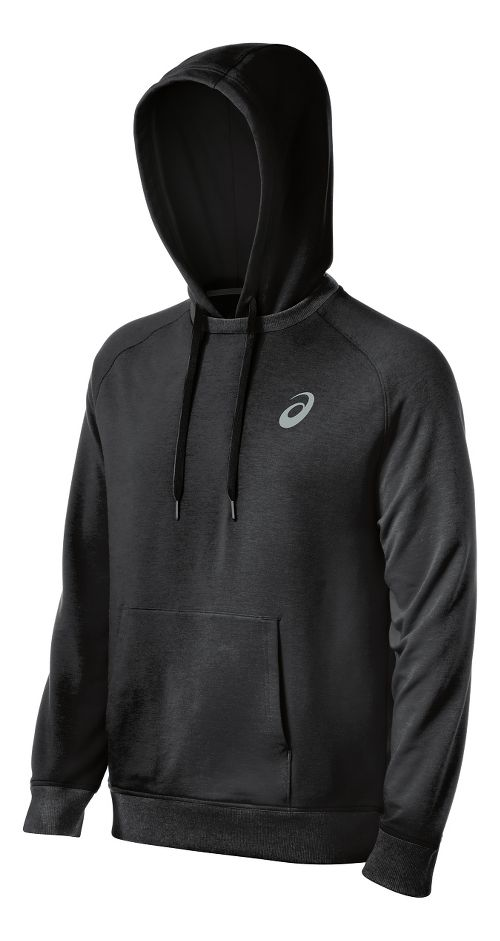 Mens ASICS All Sport Half-Zips & Hoodies Technical Tops - Black XS
