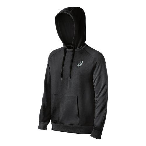 Mens ASICS All Sport Half-Zips & Hoodies Technical Tops - Black M