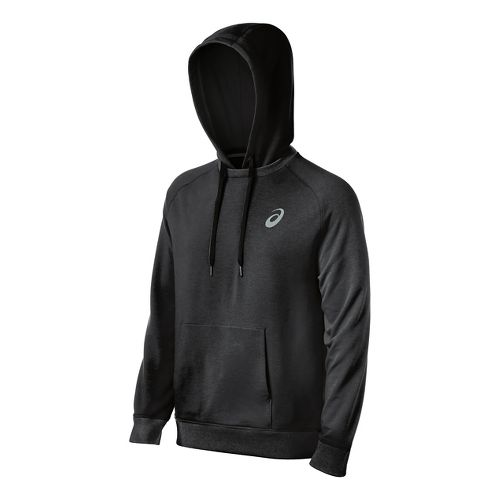 Mens ASICS All Sport Half-Zips & Hoodies Technical Tops - Black S