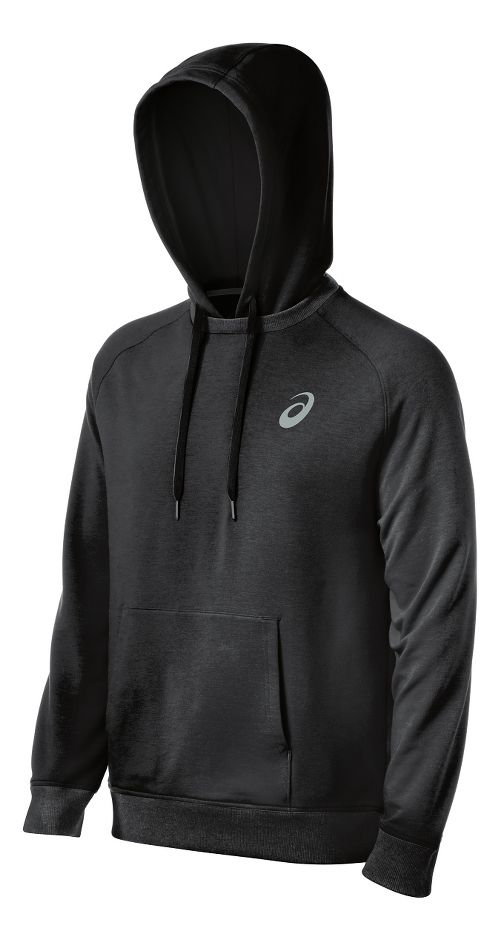 Mens ASICS All Sport Half-Zips & Hoodies Technical Tops - Graphite S