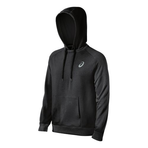 Mens ASICS All Sport Half-Zips & Hoodies Technical Tops - Graphite M